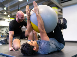 Training at the gym in Highgate and Archway
